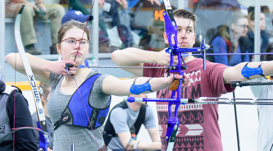 Shooters at BC Indoor Championships